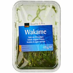 Salade d'algues Wakame 125g