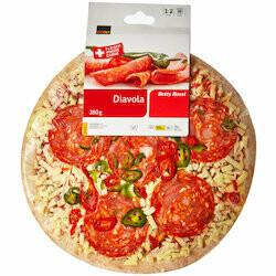 Betty Bossi Pizza Diavola 380g