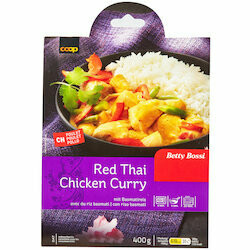 Betty Bossi Poulet au curry rouge thaï 400g