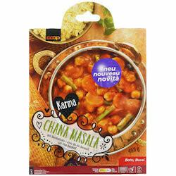 Karma Betty Bossi Chana masala avec riz basmati 400g