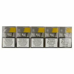 Pall Mall Cigarettes avec cartouches Silver Box Edition limitée 10pce
