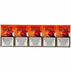 Natural American Spirit Oranges carton