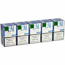 L&M  Blue Label carton