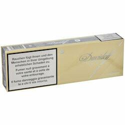 Davidoff Gold carton