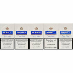 Muratti Slims Blue 100's carton