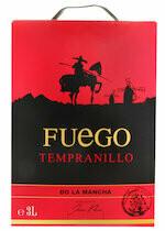 Fuego Tempranillo La Mancha DO 300cl
