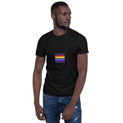 LGBTQ+ Worthy Human Positive Pride Short-Sleeve Unisex T-Shirt