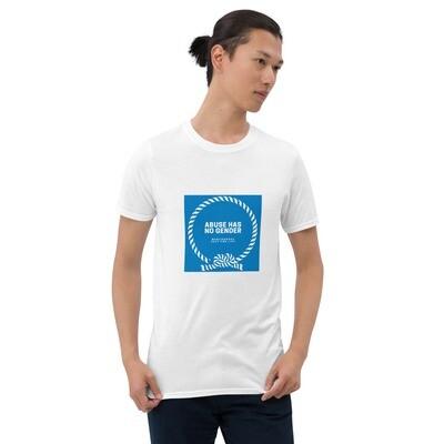 MenCourage Range - Abuse Has No Gender Short-Sleeve Unisex T-Shirt