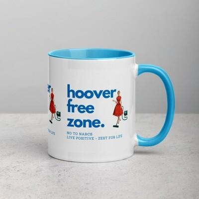 Live Positive Range - No Hoovering NPD & BPD Awareness Mug with Color Inside