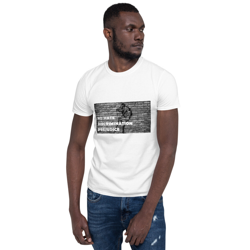 Zest For Life Range - No Hate All Lives Matter Short-Sleeve Unisex T-Shirt