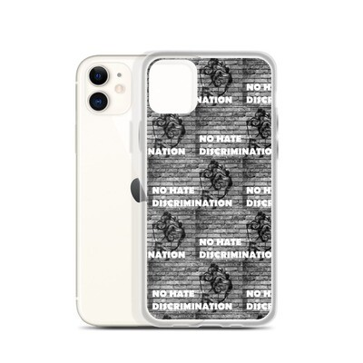 Zest For Life Range - No Hate All Lives Matter iPhone Case