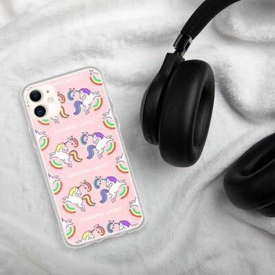 LGBTQ+ Unicorns Unite Positive Pride Range iPhone Case