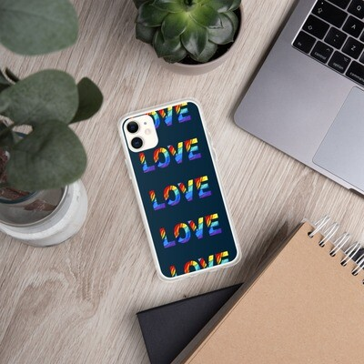 LGBTQ+ LOVE Positive Pride Range iPhone Case
