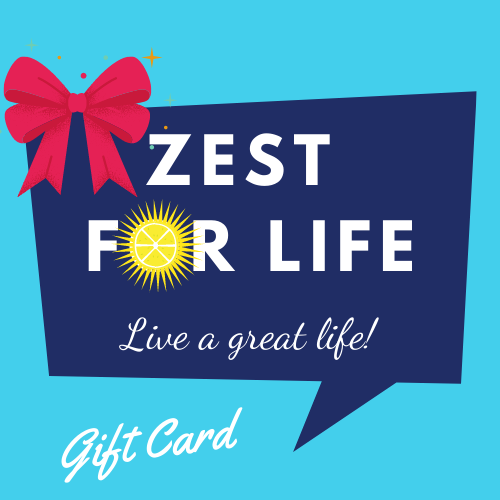 Zest For Life Gift card