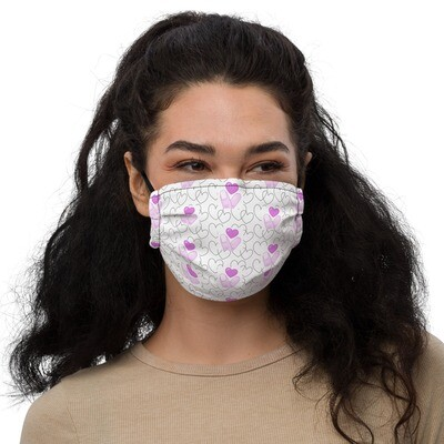 Zest For Life Finger Heart Reuseable Facemask