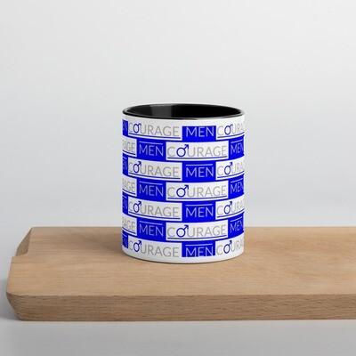 MenCourage Range - Logo Color Inside Mug