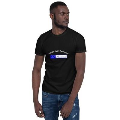 MenCourage Range - Male Survivors Awareness Unisex T-Shirt