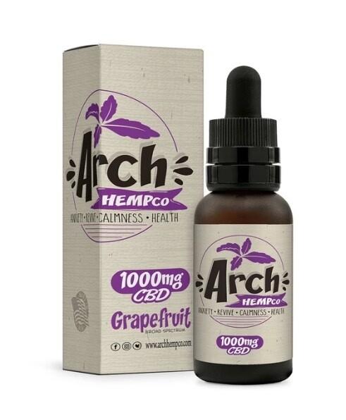 Arch Hempco Grapefruit 1000 MG TINCTURE