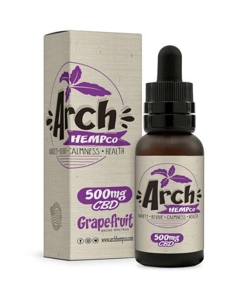 Arch Hempco Grapefruit 500 MG TINCTURE