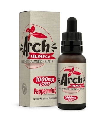 Arch Hempco Peppermint 1000 MG TINCTURE