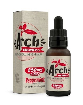 Arch Hempco Peppermint 250 MG TINCTURE