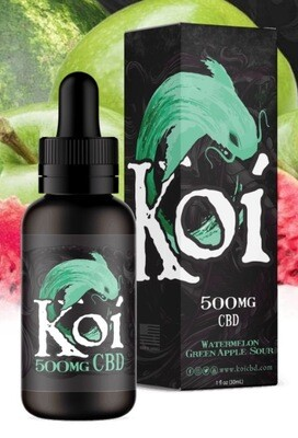 Koi Watermelon Green Apple Sour 500mg