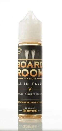 BR Vapor All In Favor Pistachio Butterscotch 3 mg