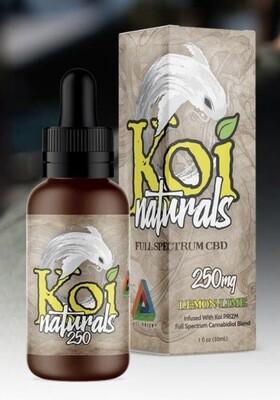 Koi Naturals Lemon Lime 250mg TINCTURE