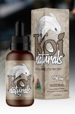 Koi Naturals Natural 250 MG TINCTURE