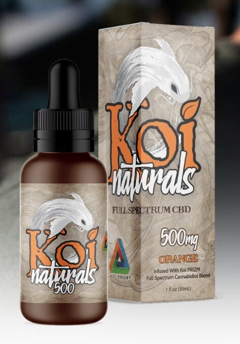 Koi Naturals Orange 500 MG TINCTURE