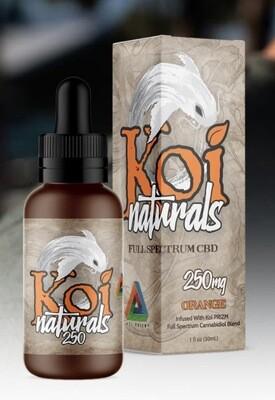 Koi Naturals Orange 250mg TINCTURE
