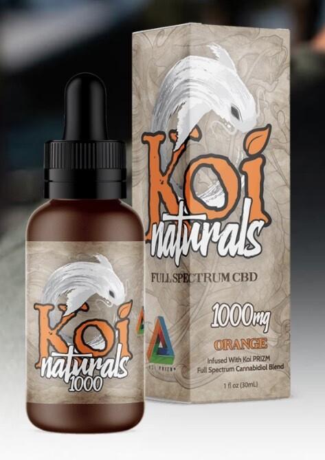Koi Naturals Orange 1000 Mg TINCTURE