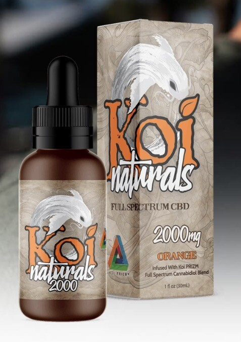 Koi Naturals Orange 2000mg TINCTURE