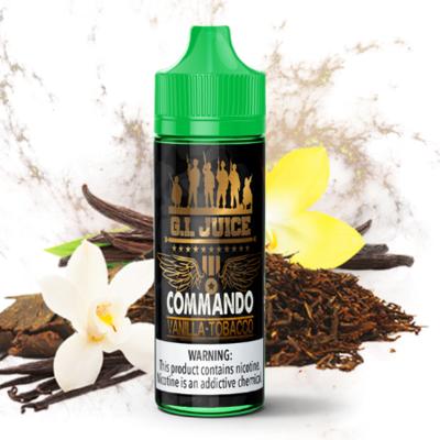 G.I. Juice Commando Vanilla Tobacco 3MG