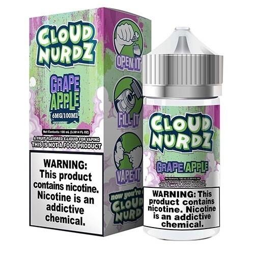 Cloud Nurdz Grape Apple 6mg