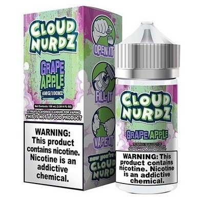 Cloud Nurdz Grape Apple 0mg