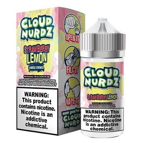 Cloud Nurdz Strawberry Lemon 6mg