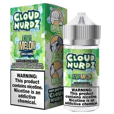 Cloud Nurdz Iced Kiwi Melon 6mg