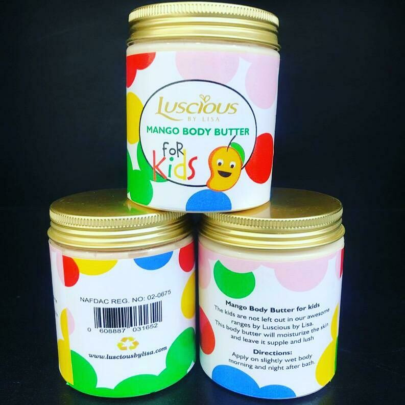 Mango body butter for kids