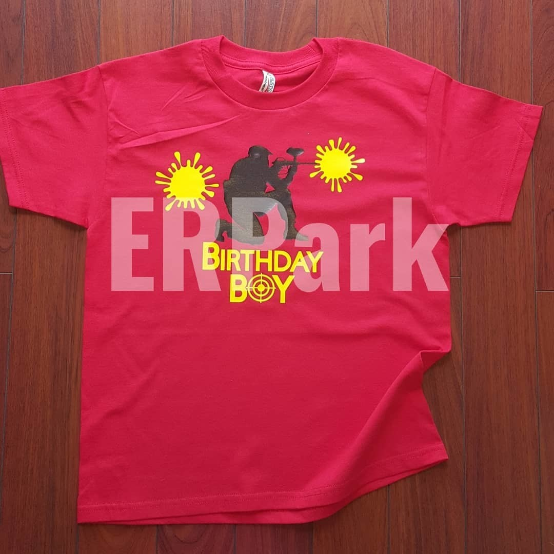 Birthday Shirts - Youth