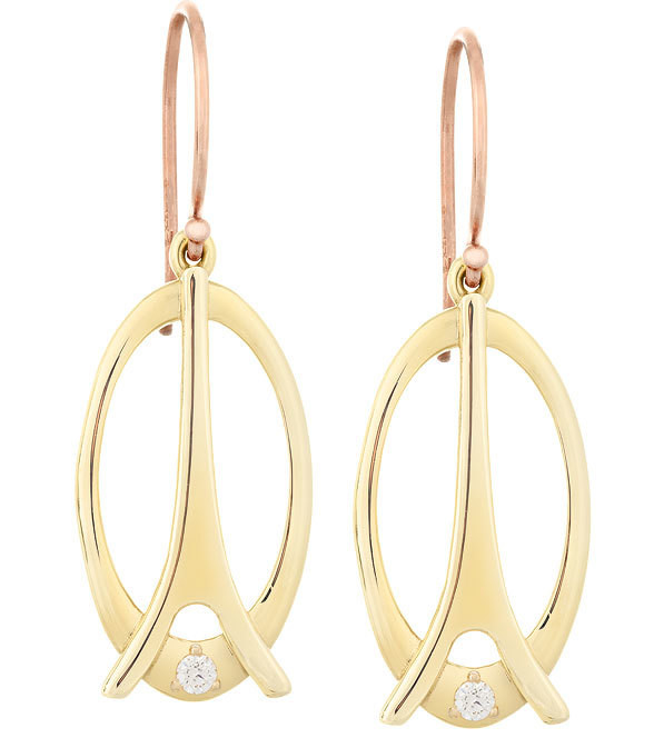 La Tour Eiffel—Yellow Gold, Diamond