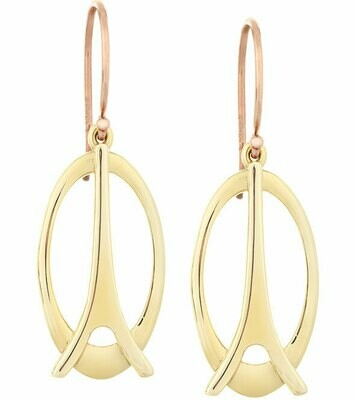 La Tour Eiffel—Yellow Gold, Plain