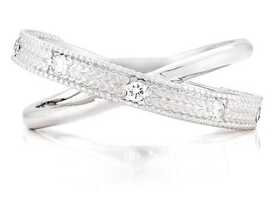 Enchanté—White Gold/Diamond