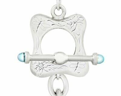 CC Nouveau-Freeform© Necklace—Blue Topaz