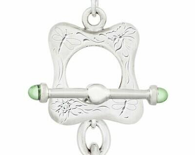 CC Nouveau-Freeform© Necklace—Peridot
