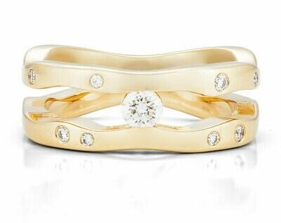Seine-Yellow Gold/Diamonds
