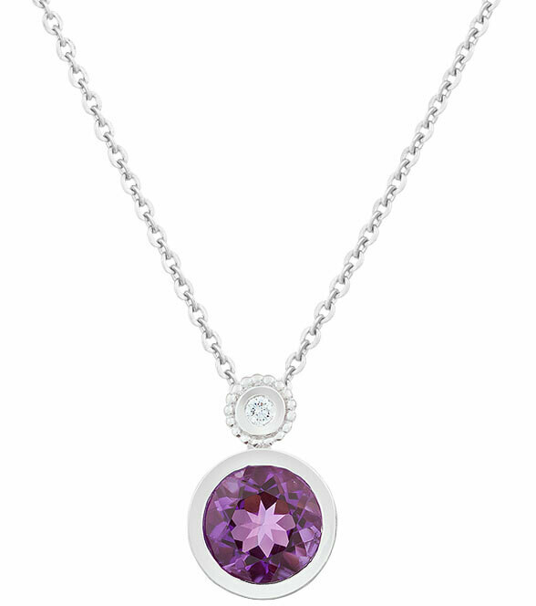 CC Tuileries©—Silver with Amethyst
