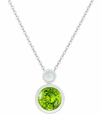CC Tuileries©—Silver with Peridot