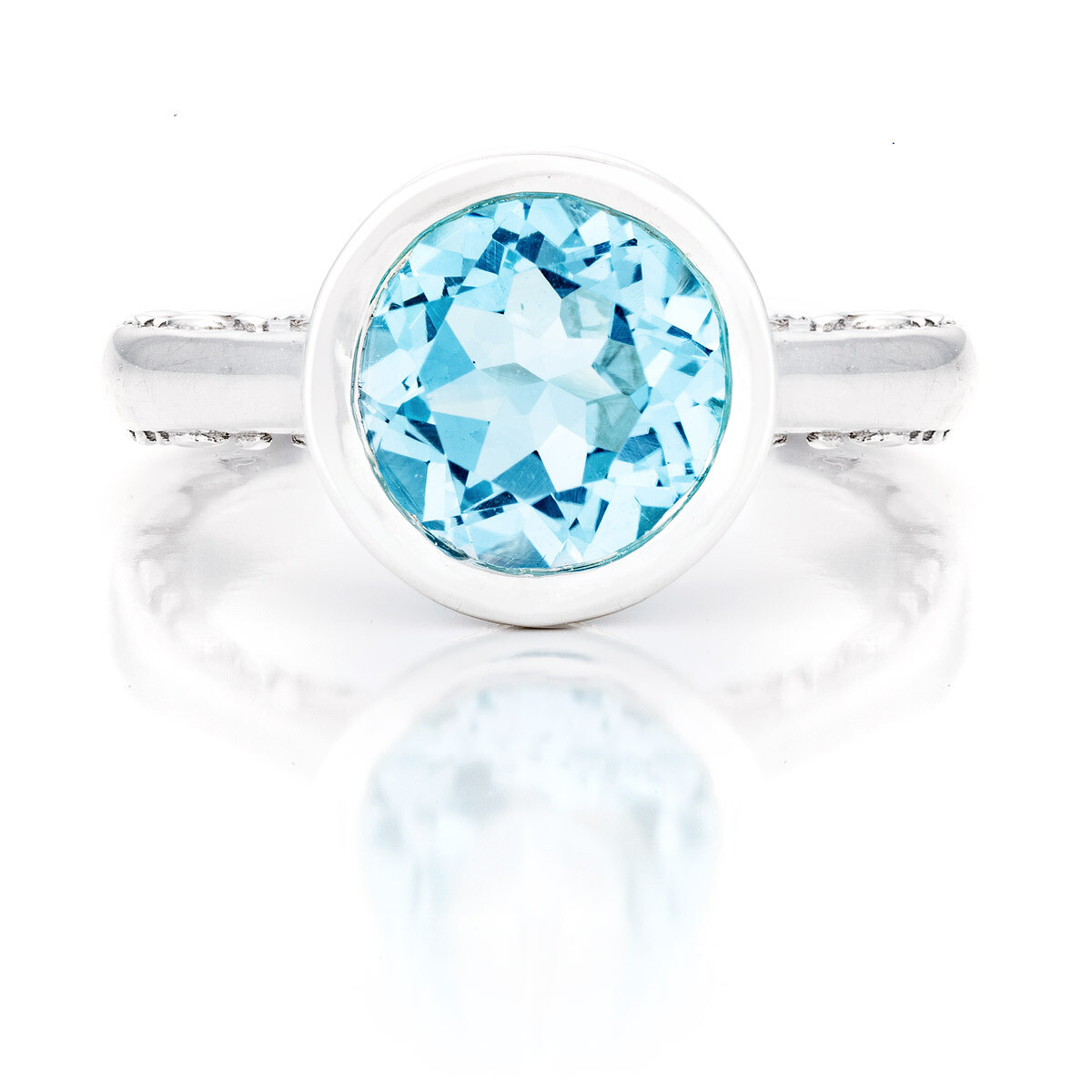 CC Tuileries©—Sliver with Blue Topaz