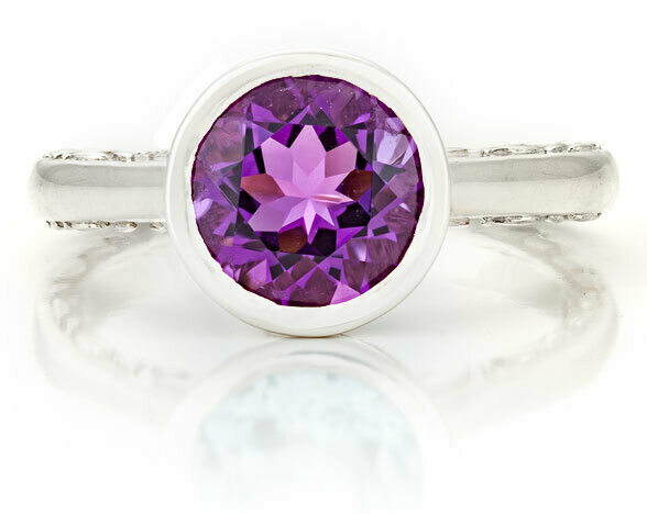 CC Tuileries©—Sliver with Amethyst